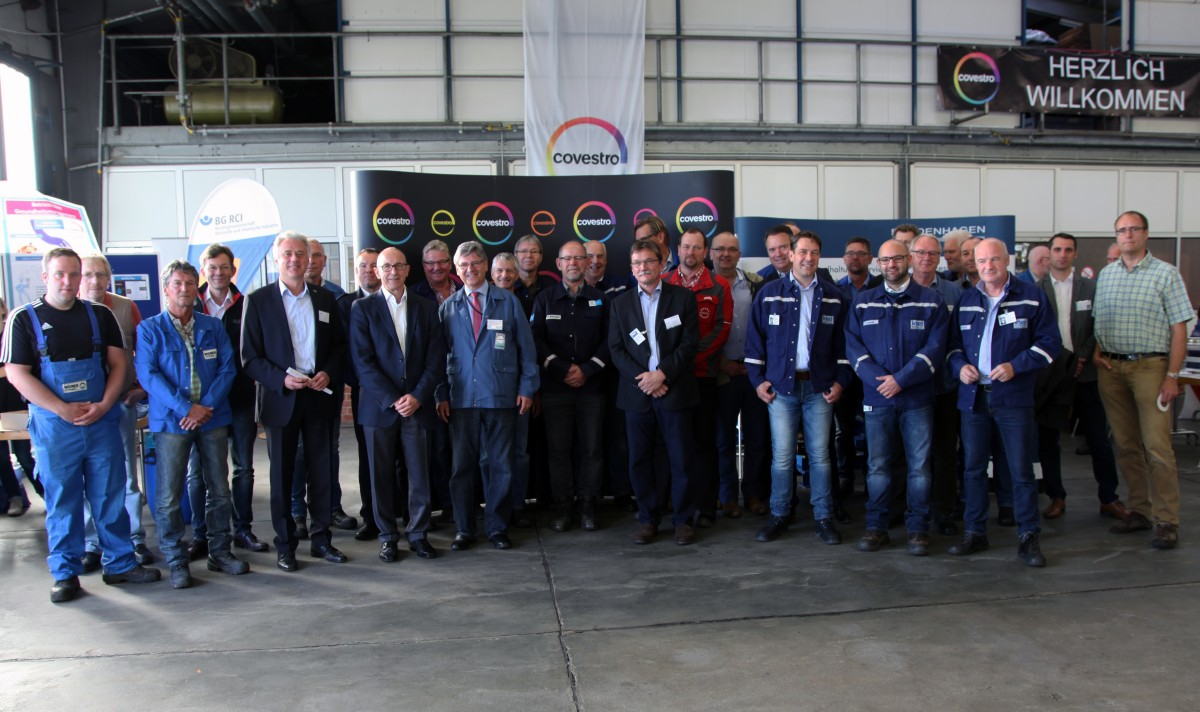 Bardenhagen beim Covestro-Safety-Day